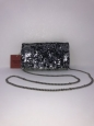 Foldover Clutch With Removable Crossbody Chain - Mossimo Supply Co.&153; Bla...