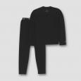 Boys' Thermal Polyester Underwear - C9 Champion Black S