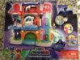 Pj Masks Headquarters Playset House Catboy & Car + Extra 8 Figures 2 Vehicles