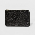Women's Laptop Sleeve - A New Day Black Glitter