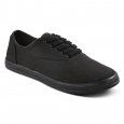 Women's Lunea Canvas Sneakers -Black 7, Black