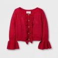 Toddler Girls' Cardigan - Genuine Kids from OshKosh Rendezvous Red 4T, Brown