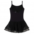 Freestyle By Danskin Girls' Activewear Dresses Black - S