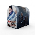 32ct Valentine's Day Star Wars Ep.8 Mailbox with Cards, Multi-Colored