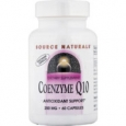 Source Naturals Coenzyme Q10 200 mg - 60 Vegetarian Capsules