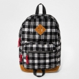 Boys' Plaid Backpack - Cat & Jack Black