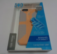 Speck Candyshell Grip For Iphone 6/6s-orange (peach)/blue-nib-$35 Ret-fs