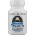 Source Naturals Vanadium with Chromium 90 Tablets