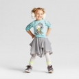 Toddler Girls' Snoopy Sweatshirt And Tutu Set - Peanuts Mint 18m
