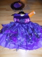 Hyde And Eek Boutique Girls' Amethyst Witch Costume - Purple - Size:l