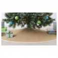 "56"" Burlap Christmas Tree Skirt - Wondershop&153;"