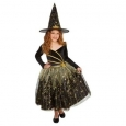 Hyde And Eek Girls' Deluxe Shooting Star Witch Costume - Multi - Size:s