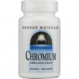 Source Naturals Chromium 200 mcg - 250 Tablets