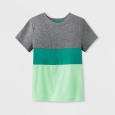 Toddler Boys' Pocket Short Sleeve T-Shirt - Cat & Jack Green 5T