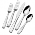 Mikasa Natasha 65-piece 18/10 Stainless Steel Flatware Set