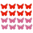16ct Valentine's Day Butterfly Rings - Spritz, Multi-Colored