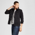 Men's Sherpa Trucker Jean Jacket - Jackson Black S