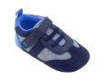 Baby Boy's Surprize By Stride Rite® William Mini Shoes - Navy Size 18/24 Mth