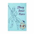 Star Wars Blue Bed Blanket (Twin)