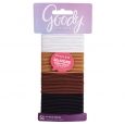 Goody 51Ct Thin Brown Ouchless Elastics
