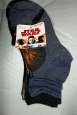 Nwt-lot Of 6 Pair-disney Star Wars-boys-ankle Socks-youth Size S/m 9-2.5
