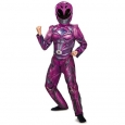 Ranger Movie Deluxe Costume, Pink, Medium (7-8)