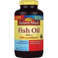 Nature Made Fish Oil Mega Size 1200 mg - 300 Liquid Softgels