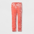 Girls' Velvet Leggings - art class Rose (Pink) L