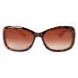 Women's Small Rectangular Sunglasses - Tortoise