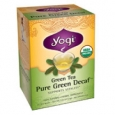 Yogi Organic Herbal Green Tea Caffeine Free 16 Tea Bags