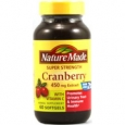 Nature Made Cranberry With Vitamin C 450 mg - 60 Softgels