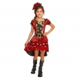 Girls' Pirate Deluxe Costume L (10-12) - Hyde and Eek! Boutique, Red
