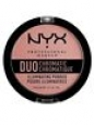Brand New-sealed Nyx Duo Chromatic Illuminating Powder - Dcip03 Crushed Bloom