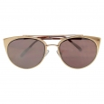 Women's Aviator Sunglasses - Rosegold Mirror, Rose Gold