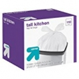"up & upâ""¢ Flap-Tie Tall Kitchen Bags 13 gallon 110 ct"