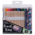 Art 101 Pencil Wrap With Color Pencils 24ct