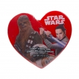 Galerie Valentine's Day Star Wars Printed Heart Box With Candy - 2.36oz