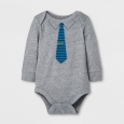 Child Bodysuits Cat & Jack Gray 18 M