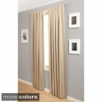 Softline Trilogy Rod Pocket 108-Inch Blockout Curtain Panel (As Is Item)