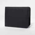 Goodfellow & Co Black Waxed Canvas Bifold Wallet