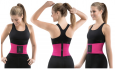 Sbelt Waist Trainer Workout Weight Belt Body Trimmer Shapper Corset Pink L / Xl