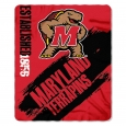 "NCAA Maryland Terrapins Northwest 50""x60"" Throw Blanket"