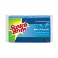 Scotch-Brite 3.5 in. x 6.1 in. Large Non-Scratch Scrub Sponge (2-Pack)
