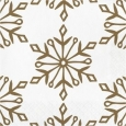 30ct Gold Printed Beverage Napkin - Spritz
