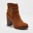 Women's Nala Platform Wrap Booties - A Day Cognac 11