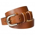 Merona Brown Modern Dress Belt - M