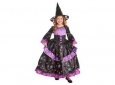 Girls' Deluxe Premium Star Gazer Witch Costume With Hat - Multi - Size:m