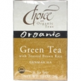 Choice Organic Teas Green Tea Toasted Brown Rice 16 Tea Bags