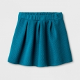 Girls' Knit Jacquard Circle A Line Skirt - Cat & Jack Fiji Teal XS