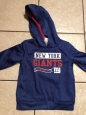 York Giants 3t Hooded Sweatshirt Nfl Team Apparel